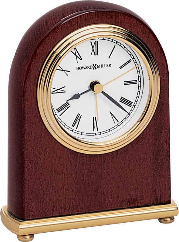 Howard Miller Rosewood Arch Table Clock