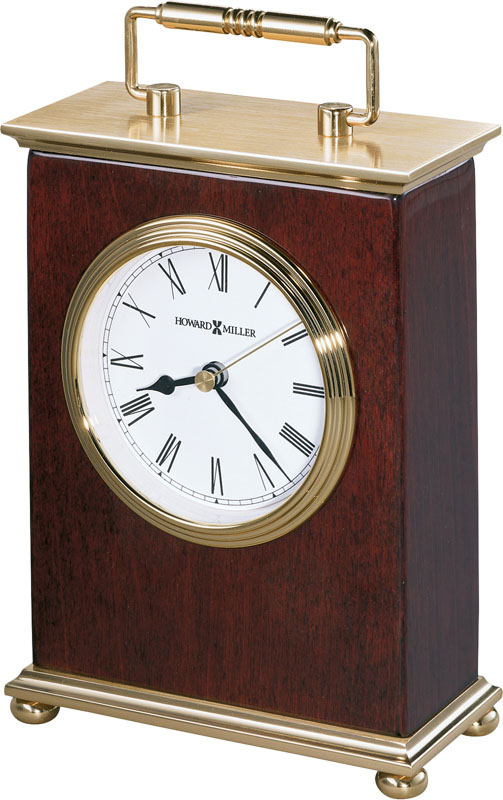Howard Miller Rosewood Bracket Table Clock