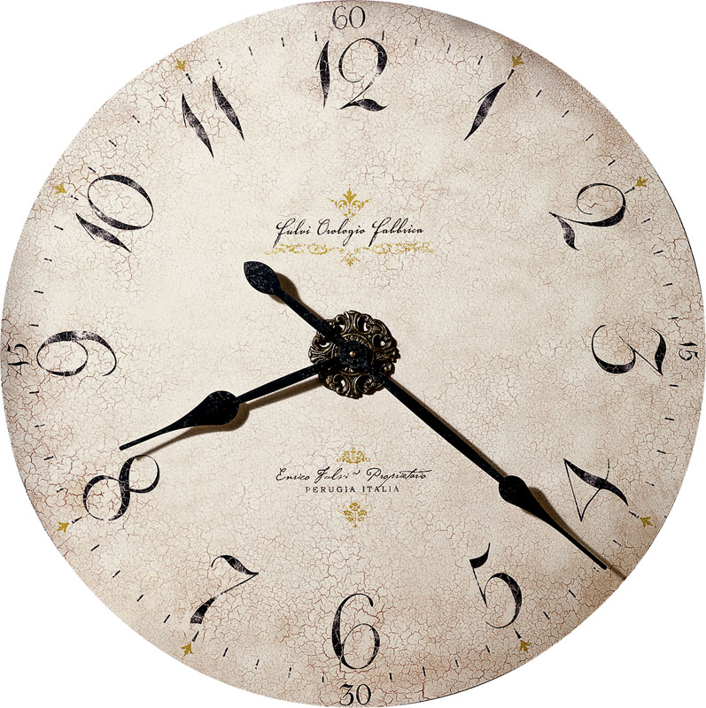 Howard Miller Enrico Fulvi Wall Clock