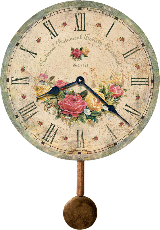 Howard Miller Savannah Botanical Society VI Wall Clock