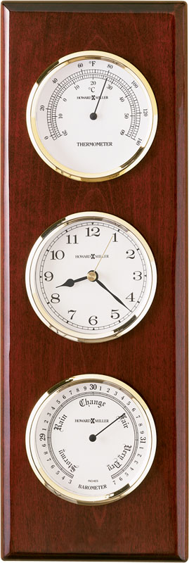 Howard Miller Shore Station Weather & Maritime Clock