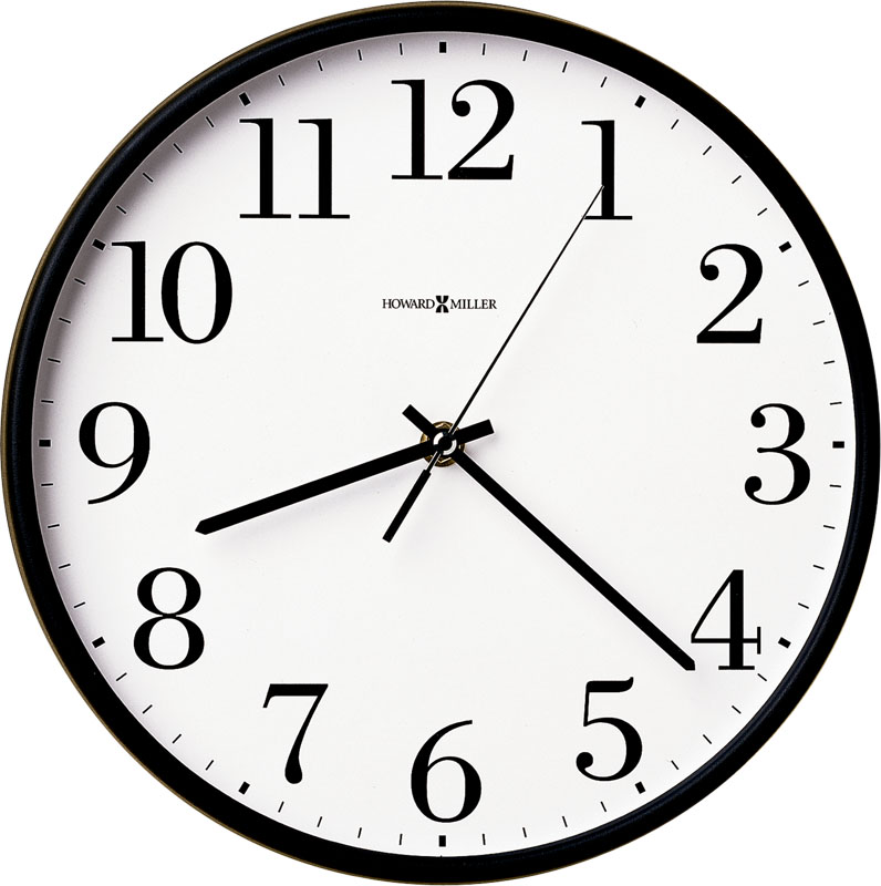 Howard Miller Office Mate Wall Clock