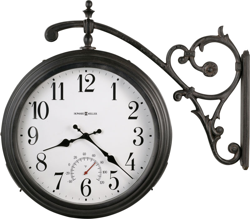 Howard Miller Luis Indoor Outdoor Wall Clock