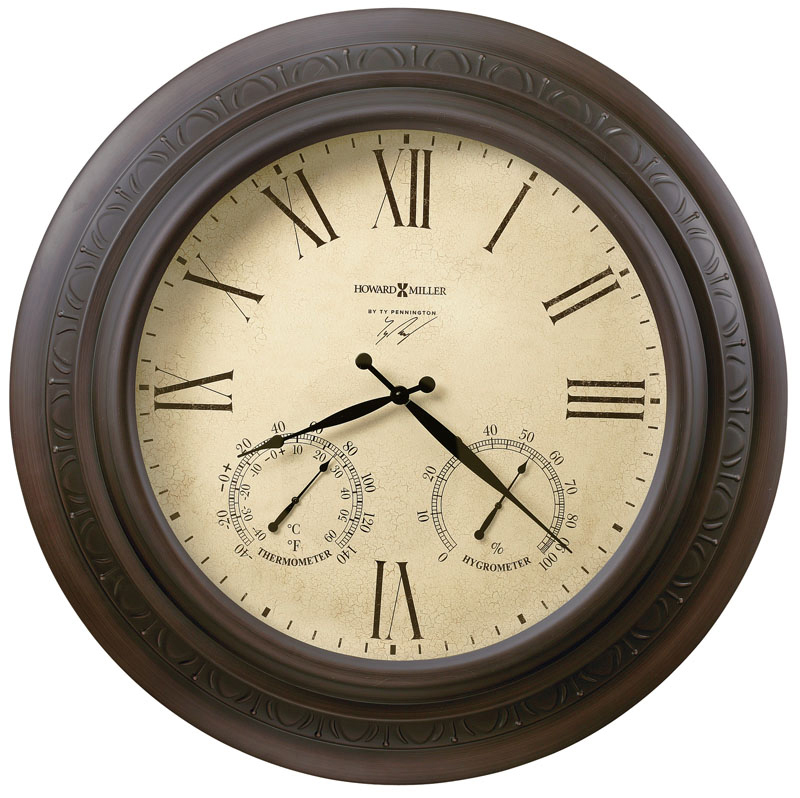 Howard Miller Copper Harbor Wall Clock