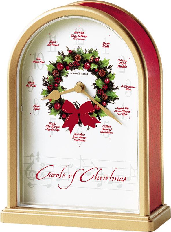 Howard Miller Carols of Christmas II Table Clock
