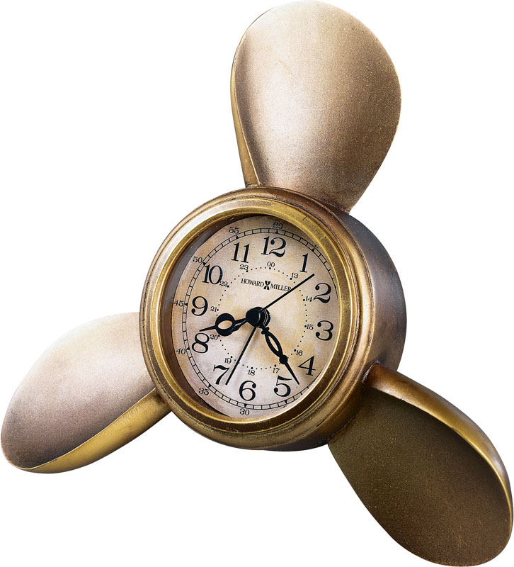Howard Miller Propeller Alarm Weather & Maritime Clock