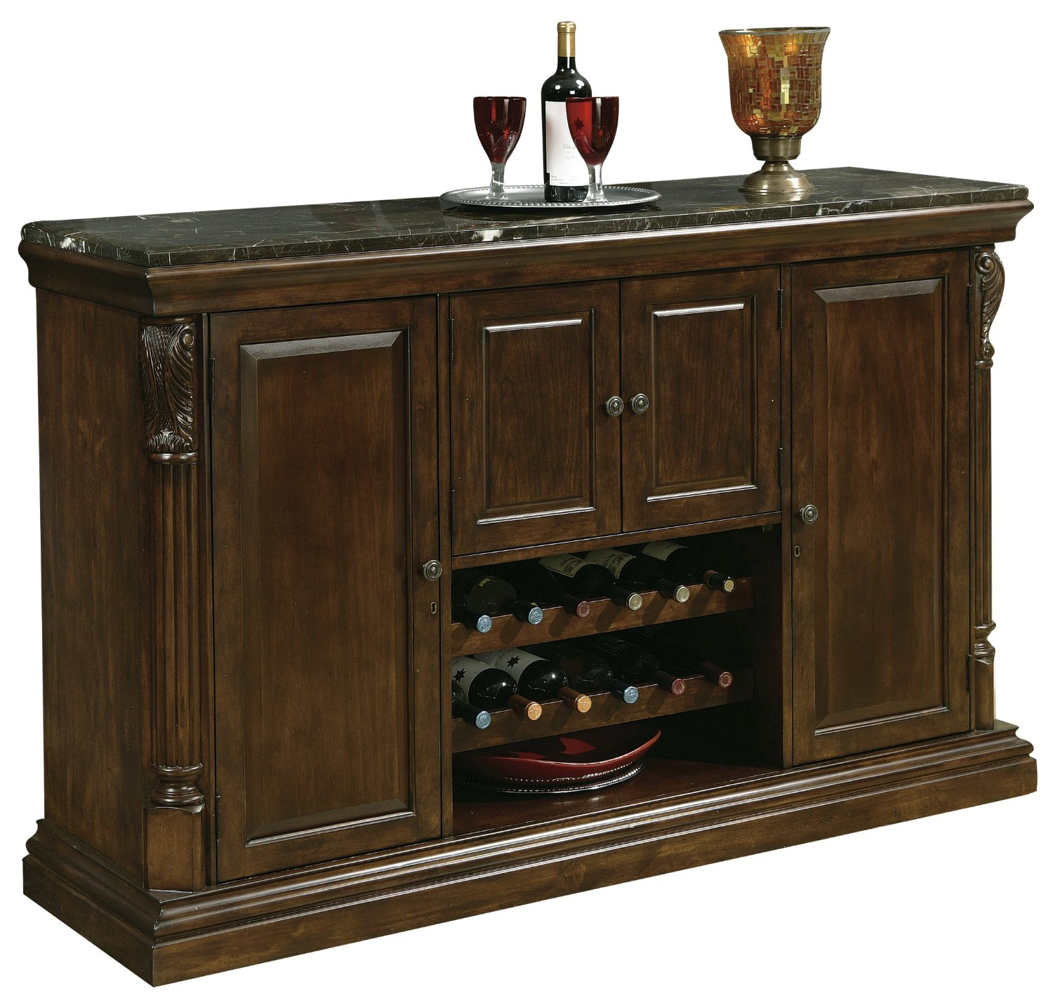Howard Miller Niagara Console Wine and Spirits Furnishing