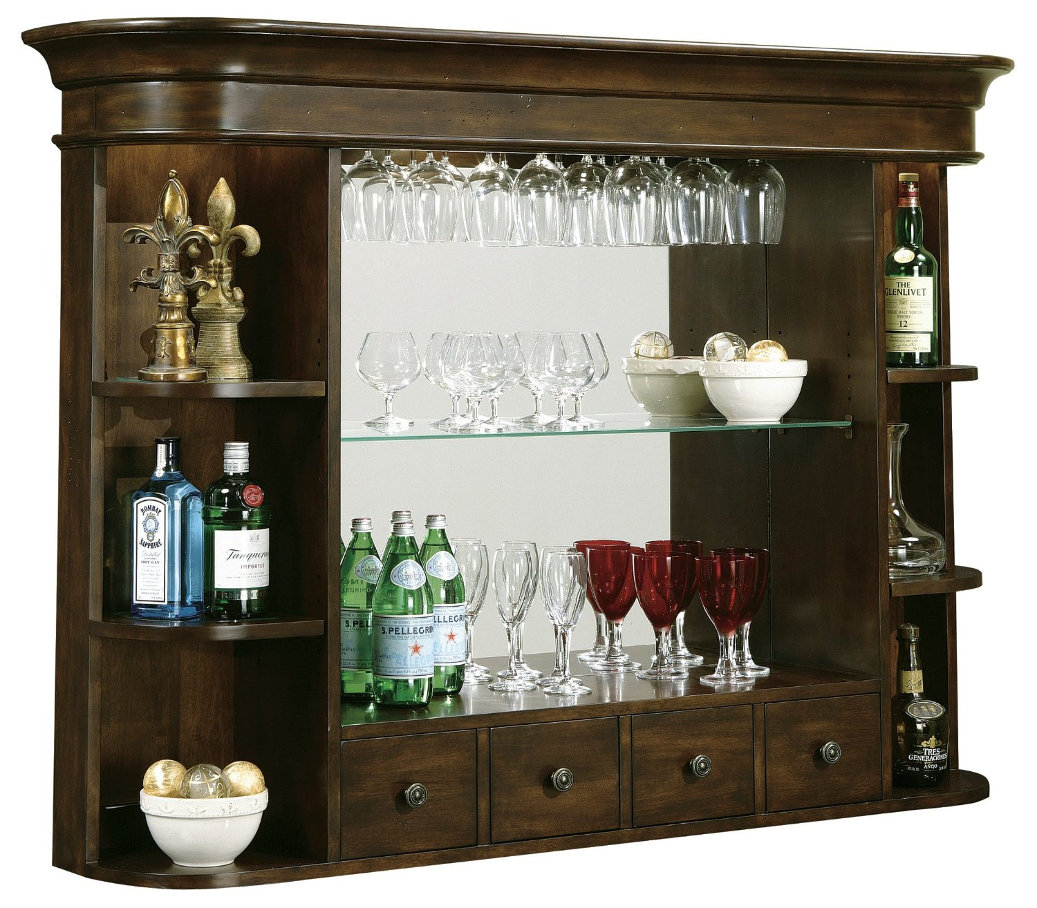 Howard Miller Niagara Hutch Wine and Spirits Furnishing
