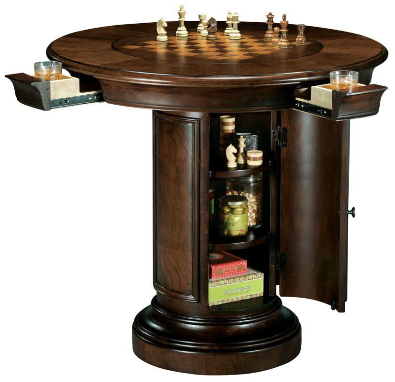 Howard Miller Ithaca Pub Table Wine and Spirits Furnishing