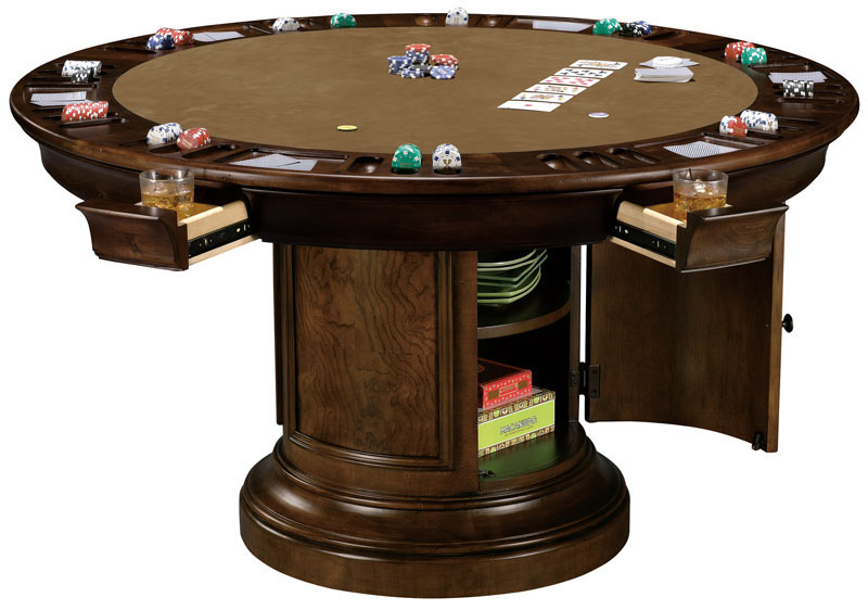 Howard Miller Ithaca Game Table Wine and Spirits Furnishing