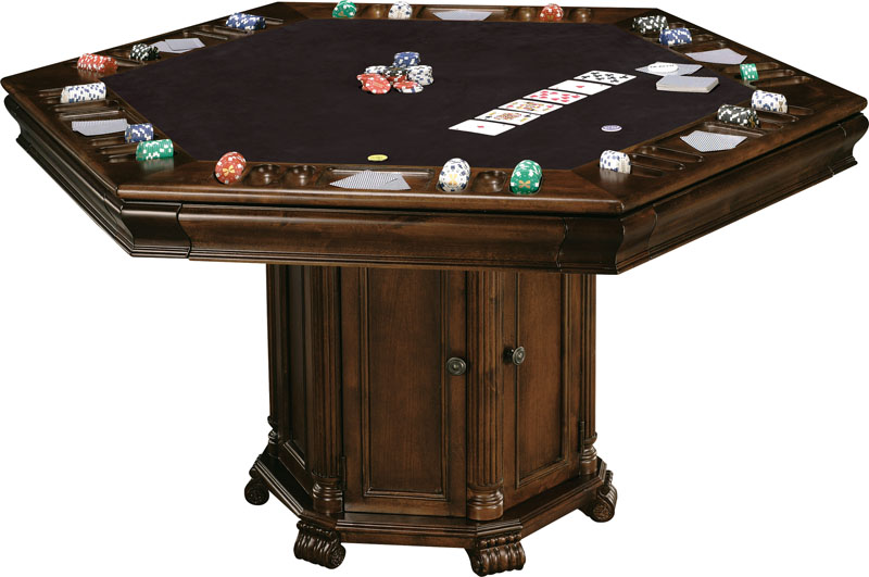 Howard Miller Niagara Game Table Wine & Spirits Furnishing
